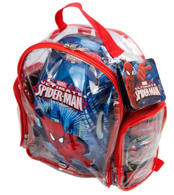 Spiderman Marvel Maschio 3-5 Anni, 5-8 Anni ZAINO CASCO E PROTEZIONI SPIDERM - MARVEL - Marche