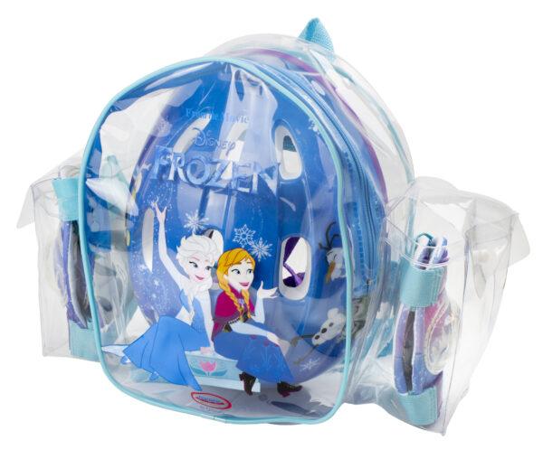 ZAINO CASCO E PROTEZIONI FROZEN - Disney - Toys Center Disney Femmina 3-5 Anni, 5-8 Anni Disney Frozen