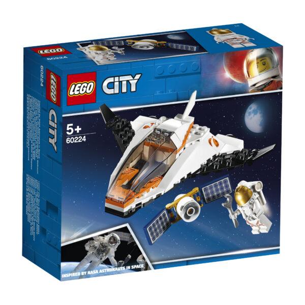 LEGO City Missione di riparazione satellitare - 60224