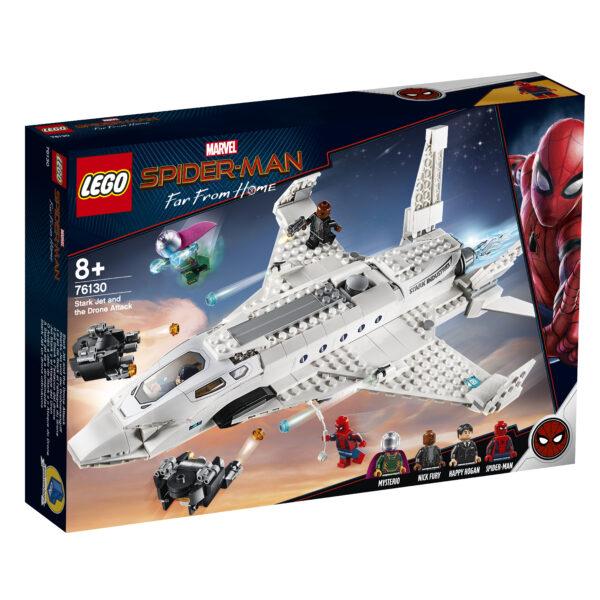 LEGO 76130 - Il jet Stark e l'attacco del drone