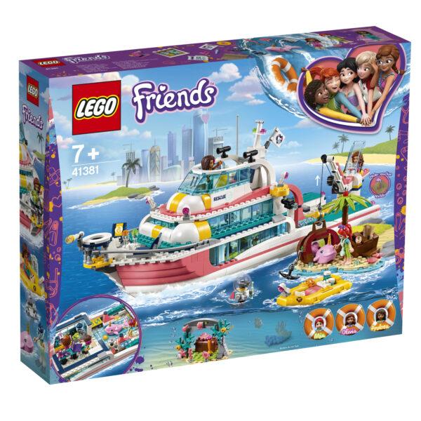 LEGO Friends Motoscafo di salvataggio - 41381
