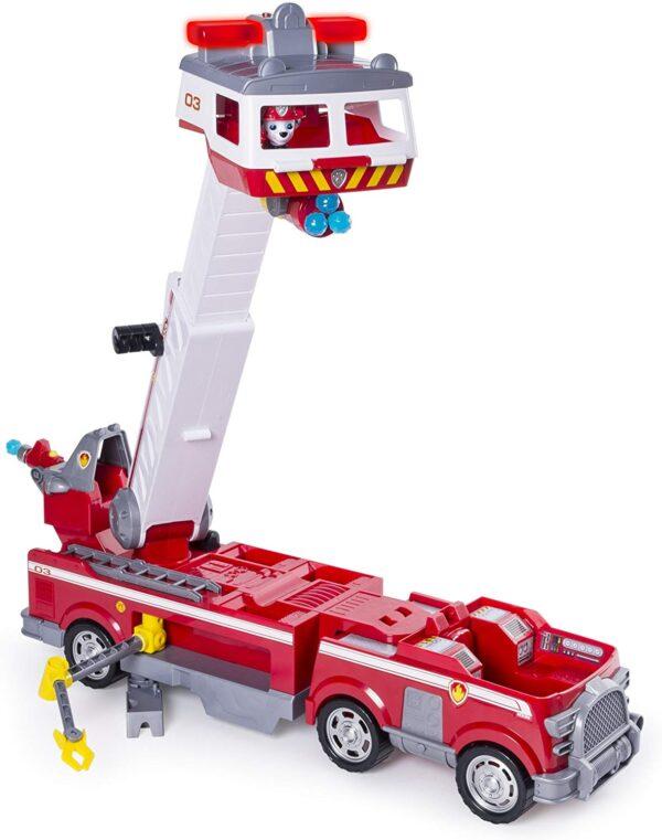 PAW PATROL Mega Camion dei Pompieri di Marshall PAW PATROL Unisex 12-36 Mesi, 12+ Anni, 3-5 Anni, 5-8 Anni, 8-12 Anni ALTRO