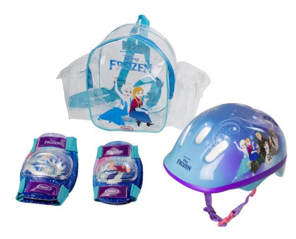 ZAINO CASCO E PROTEZIONI FROZEN - Disney - Toys Center Disney Frozen Femmina 3-5 Anni, 5-8 Anni Disney