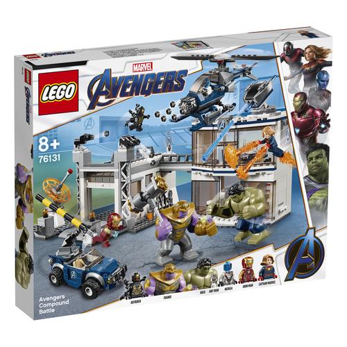 LEGO Marvel Avengers Avengers: battaglia nel Quartier Generale - 76131