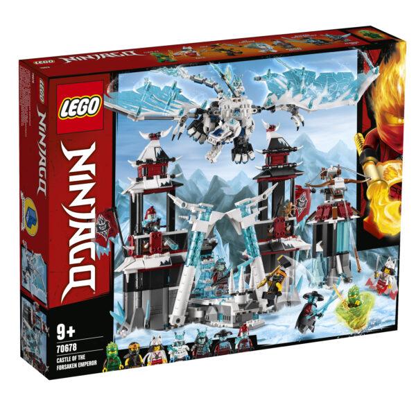 LEGO NINJAGO Il Castello dell'Imperatore Abbandonato - 70678