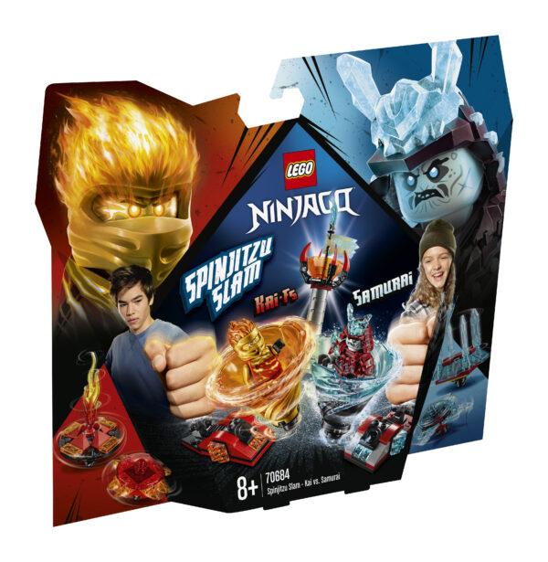 LEGO NINJAGO Slam Spinjitzu - Kai vs. Samurai - 70684