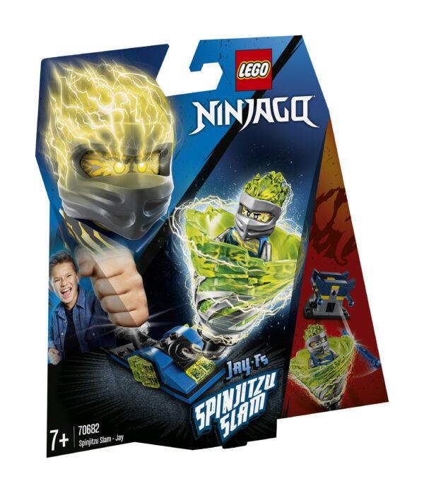 LEGO NINJAGO Slam Spinjitzu - Jay - 70682