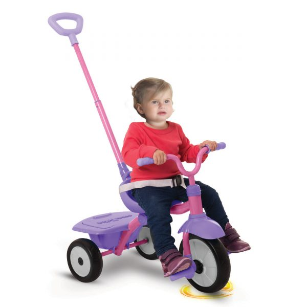 SMART TRIKE FOLDING FUN 2 IN 1 ROSA - SMART TRIKE - Marche SMART TRIKE Femmina 12-36 Mesi, 3-5 Anni ALTRI