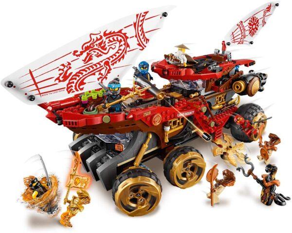 LEGO NINJAGO Bounty di Terra - 70677