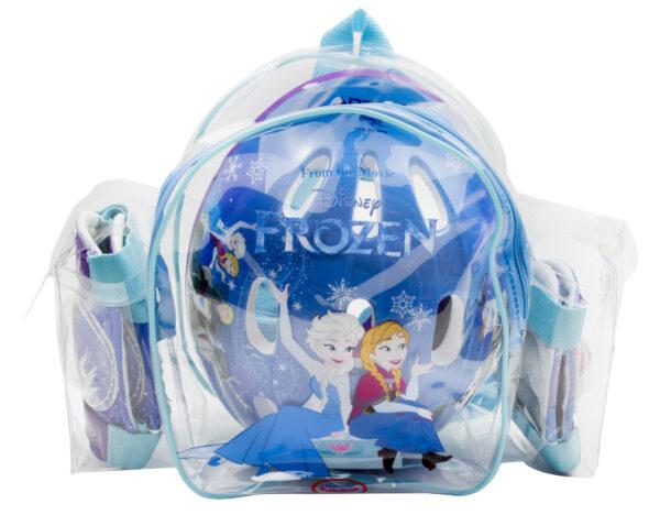 Disney Disney Frozen ZAINO CASCO E PROTEZIONI FROZEN - Disney - Toys Center Femmina 3-5 Anni, 5-8 Anni
