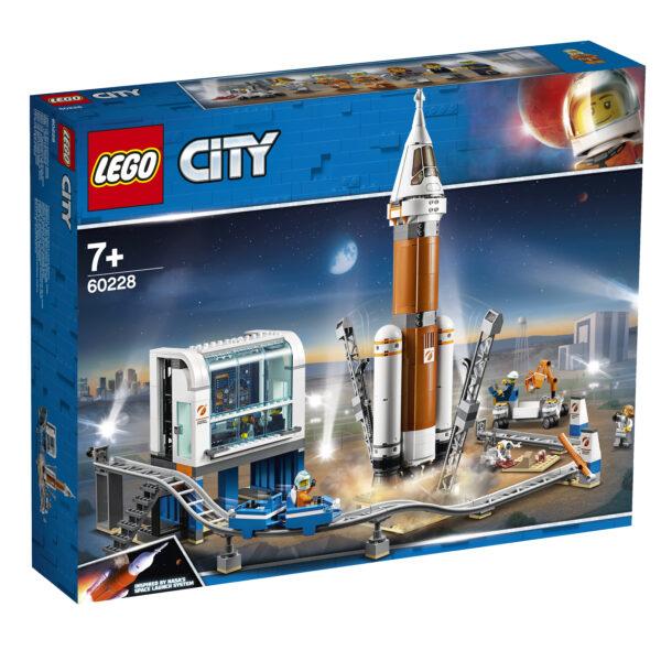 LEGO City Razzo spaziale e Centro di controllo - 60228