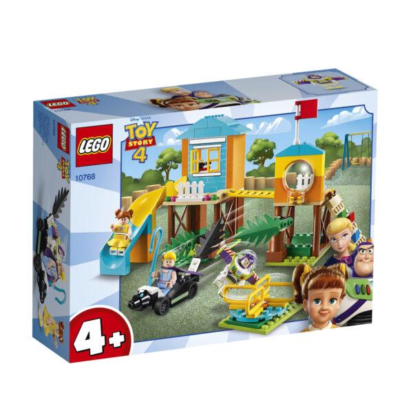 10768 - Avventura al parco giochi di Buzz e Bo Peep - Lego Juniors - Toys Center - LEGO JUNIORS - Costruzioni