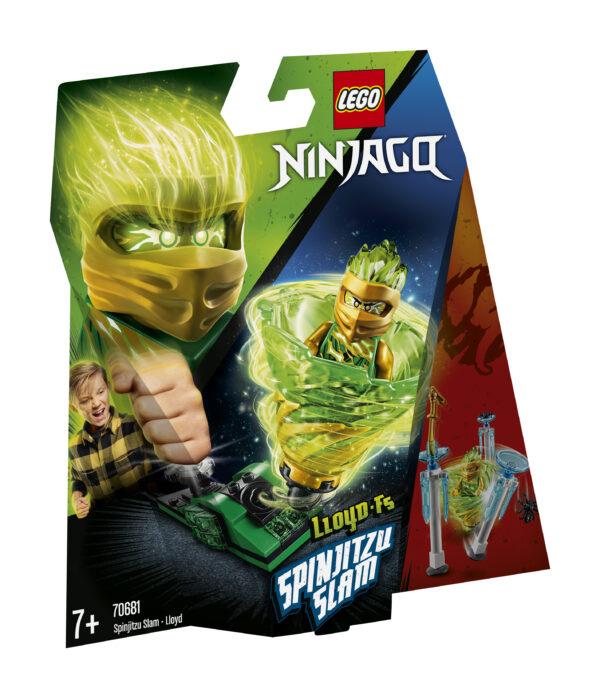 LEGO NINJAGO Slam Spinjitzu - Lloyd - 70681