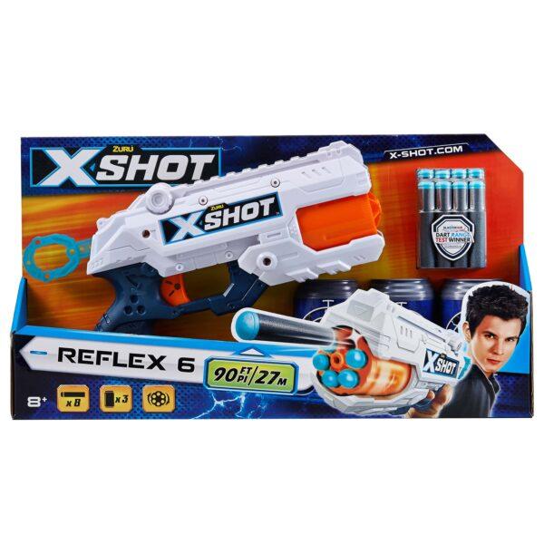 X-SHOT REFLEX 6 ALTRO Unisex 12+ Anni, 5-8 Anni, 8-12 Anni ALTRI
