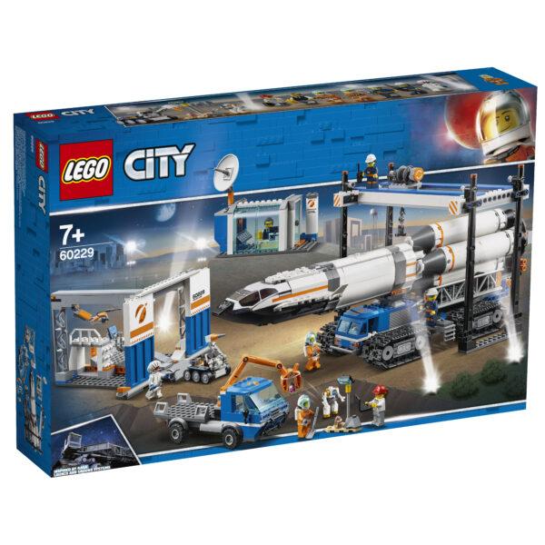 60229 - Assemblaggio e trasporto del razzo