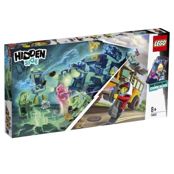 70423 - Hidden Side Autobus di intercettazione paranormale 3000 LEGO - HIDDEN SIDE