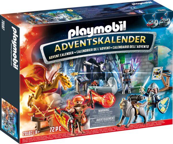 Playmobil 70187 - Calendario dell'Avvento - La Battaglia Dei Cavalieri - Costruzioni