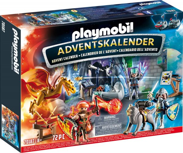 Playmobil 70187 - Calendario dell'Avvento - La Battaglia Dei Cavalieri
