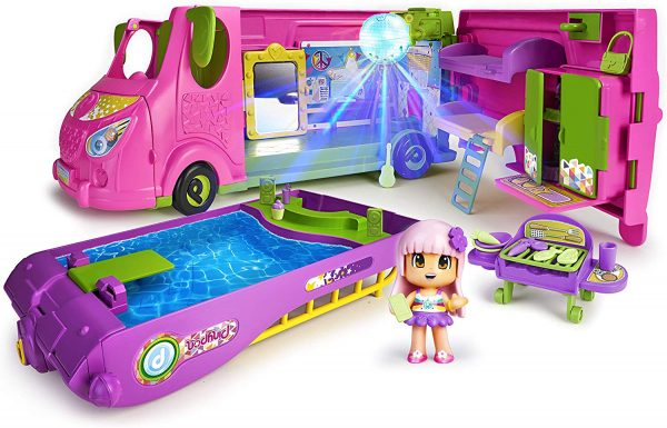 Famosa - Pinypon Cool Caravan, Playset, 700015070