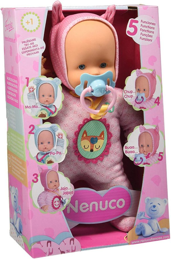 Nenuco Soft 5 Funzioni, Rosa, 700014781