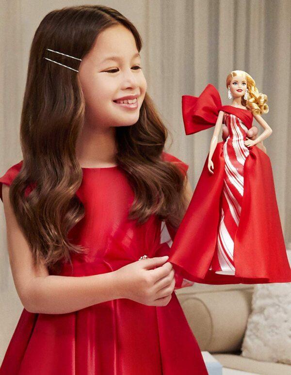 Barbie- Magia delle Feste 2019, Bambola Bionda da Collezione - Fashion dolls