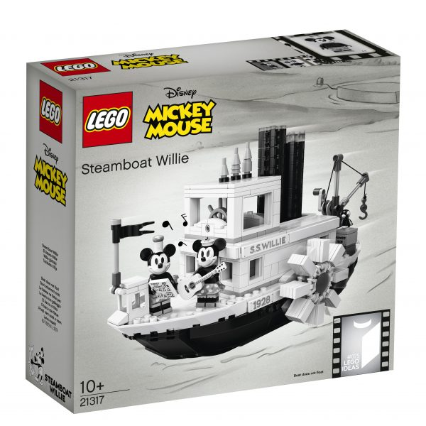 LEGO 21317 - Steamboat Willie LEGO IDEAS
