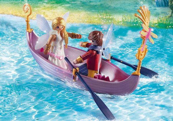 Barca romantica delle Fate