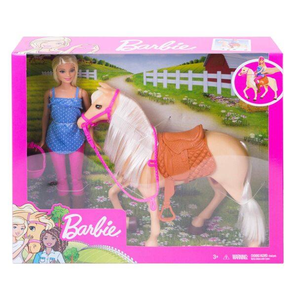 Barbie- Bambola con Cavallo