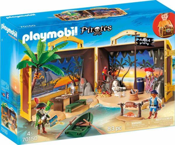 Isola dei Pirati Portatile - Costruzioni