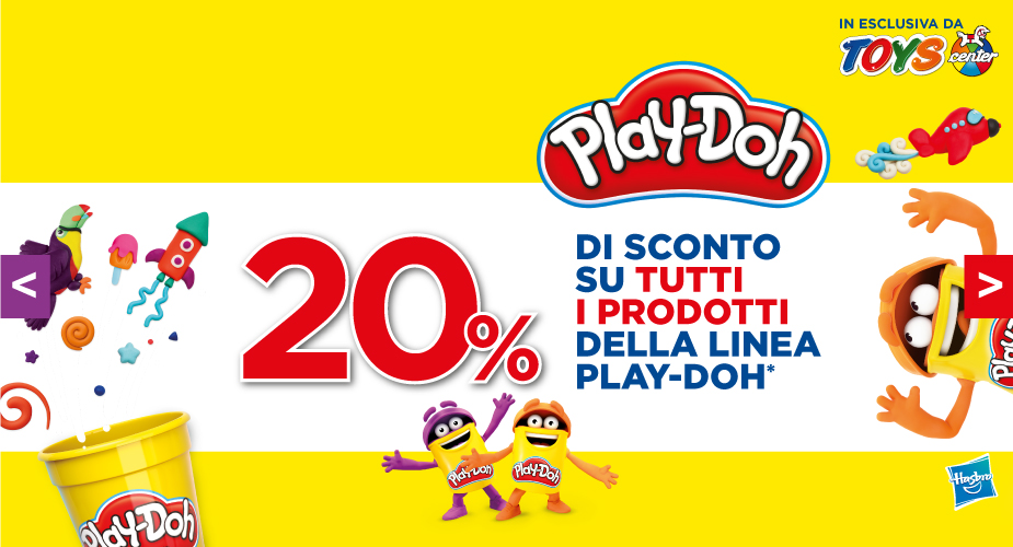 Play-Doh in offerta!