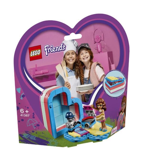 LEGO Friends La scatola del cuore dell'estate di Olivia - 41387 - Friends - Costruzioni