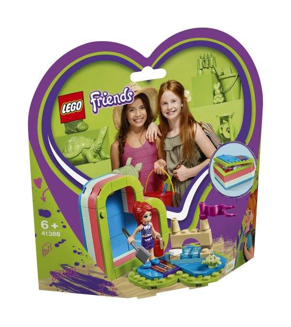 LEGO Friends La scatola del cuore dell'estate di Mia - 41388 - Friends - Costruzioni