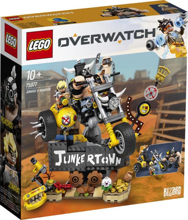 75977 - Junkrat e Roadhog LEGO OVERWATCH