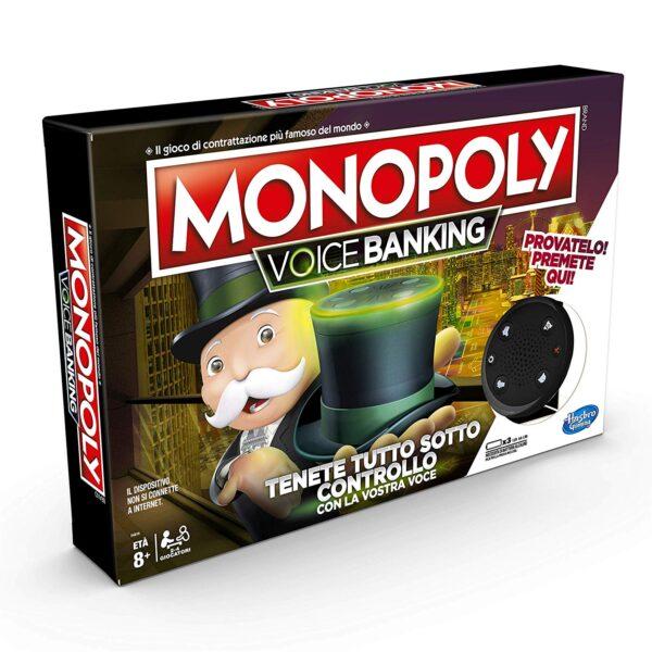 Hasbro Monopoly - Gioco Monopoly Voice Banking