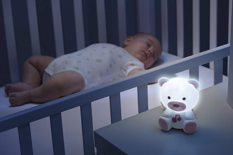 Chicco - luce notte orsetto rosa -