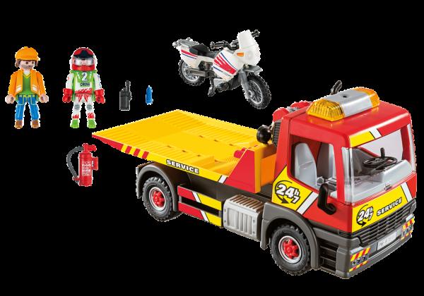 Playmobil Carro Attrezzi con moto - Costruzioni