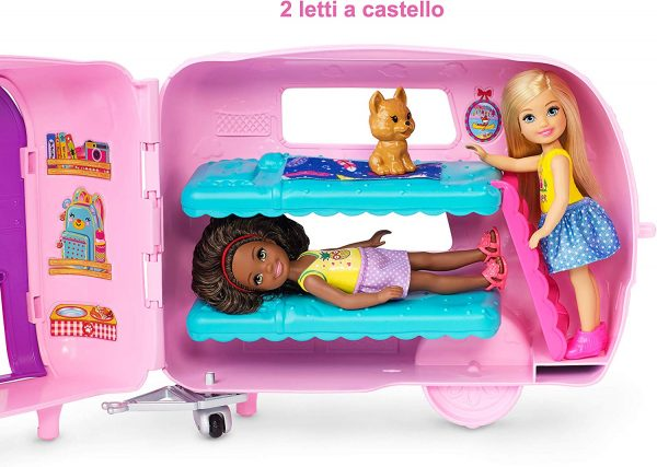 Barbie il Camper di Chelsea