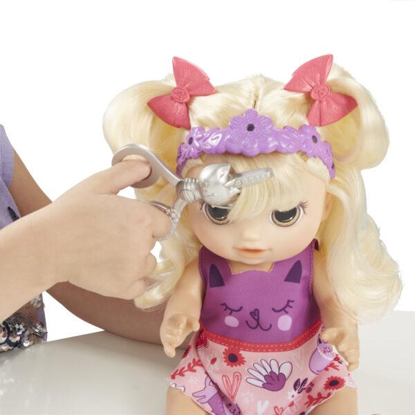 Baby Alive - Magica Frangetta (bambola bionda) - Action figures