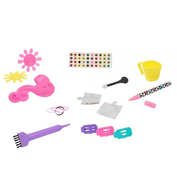 Giochi Preziosi Bar19000 Barbie Styling Head Magic Look, Multicolour