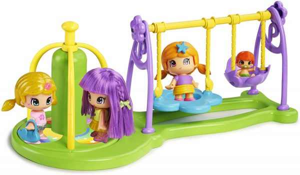 Famosa - Pinypon Parco Giochi, Playset, 700015071