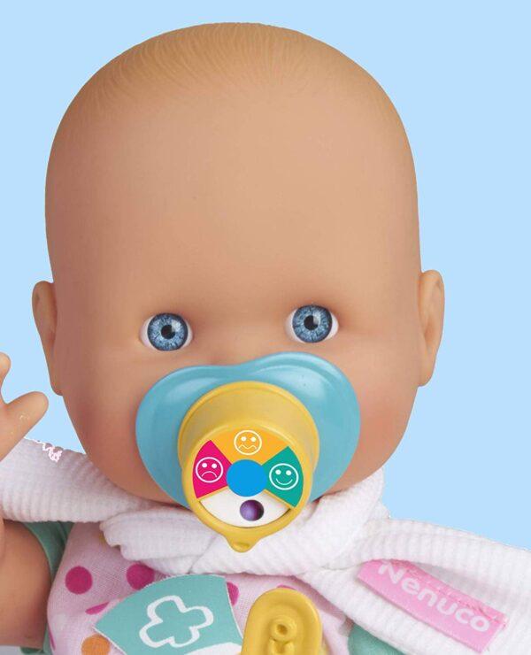 Famosa - Nenuco Mal di Gola, Bambola Educativa, 700015152 - Bambolotti e accessori