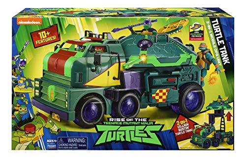 Turtles ROTMNT Veicolo Tank con Personaggio