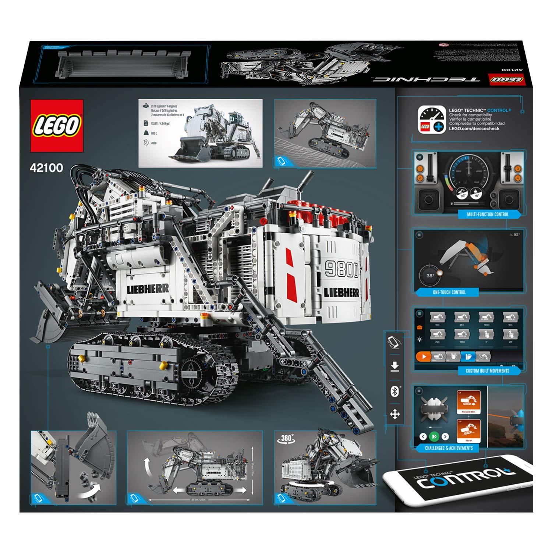 Lego technic - escavatore liebherr r 9800 - 42100 - LEGO TECHNIC