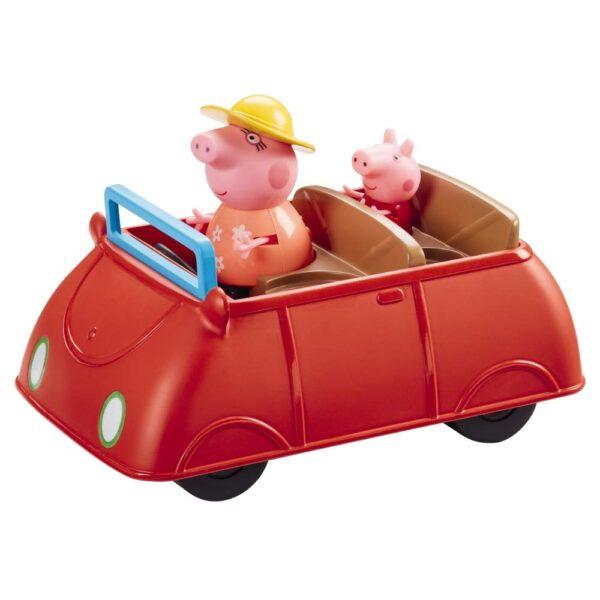 Peppa Pig l'Automobile della Famiglia Pig con Suoni e 2 Personaggi