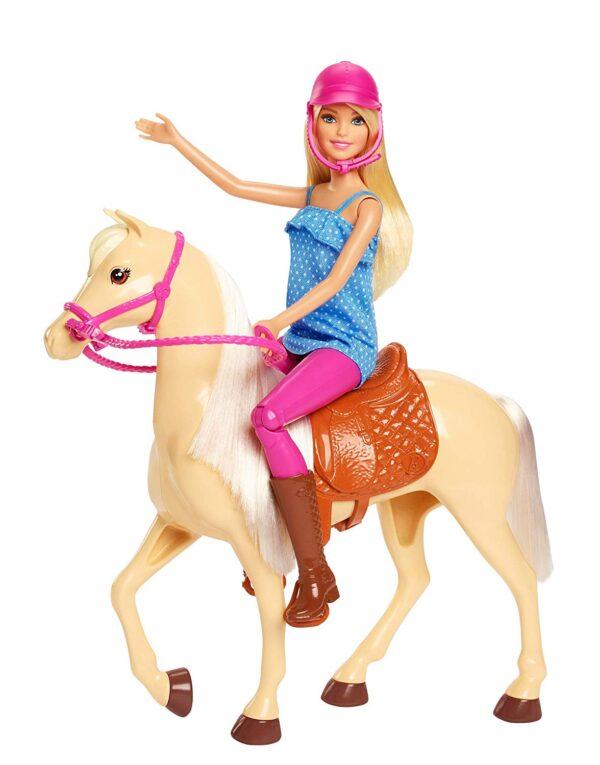 Barbie- Bambola con Cavallo - Fashion dolls