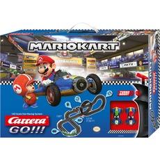 Carrera Nintendo Mario Kart Mach 8 pista giocattolo Plastica, Ippodromo CARRERA