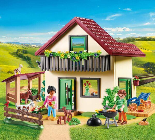 Playmobil 70133 - Casa con Allevamento Bio