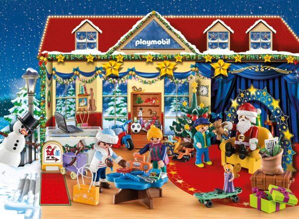 Playmobil 70188 - Calendario dell'Avvento - Il Negozio Dei Giocattoli Di Natale