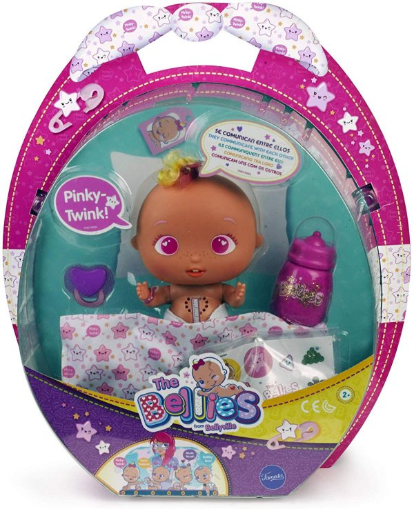 The Bellies- Pinky-Twink Bambola Interattiva, 700014563