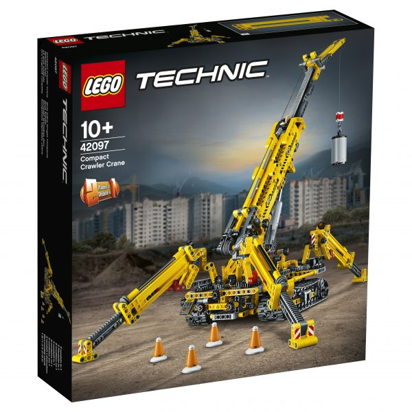 LEGO TECHNIC - Gru cingolata compatta - 42097 TECHNIC